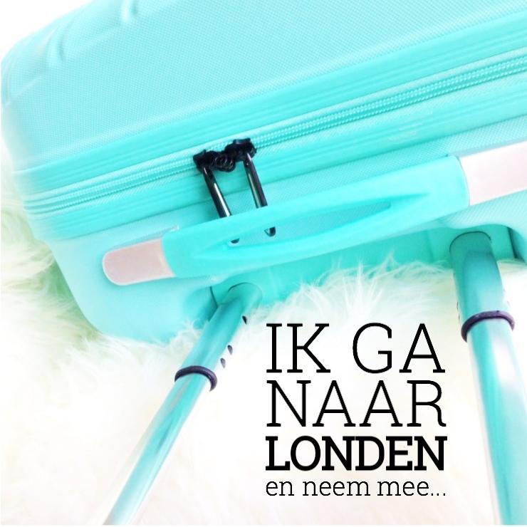 Ik ga naar Londen en neem mee…