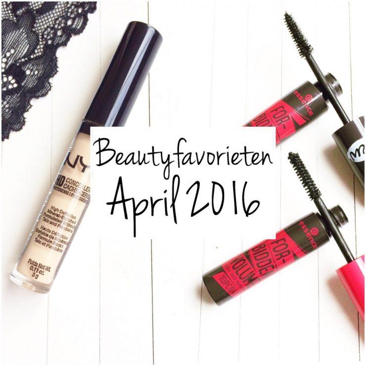 Beautyfavorieten April 2016